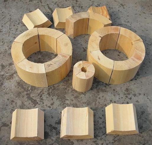 木块搭建房子图片