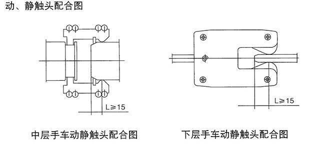 高压电路手车符号