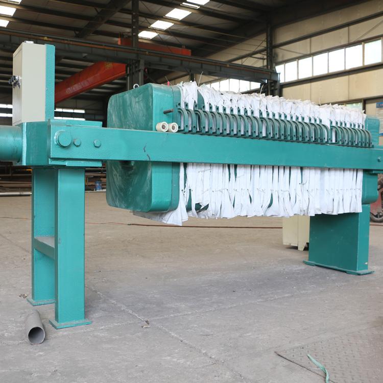 中科贝特板式污泥压滤机 处理饴糖生产污水效果显着