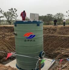 一体化污水泵站厂