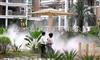 深圳南山公园花园智能绿化喷淋喷灌系统